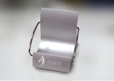 Grabación láser en todo tipo de metales